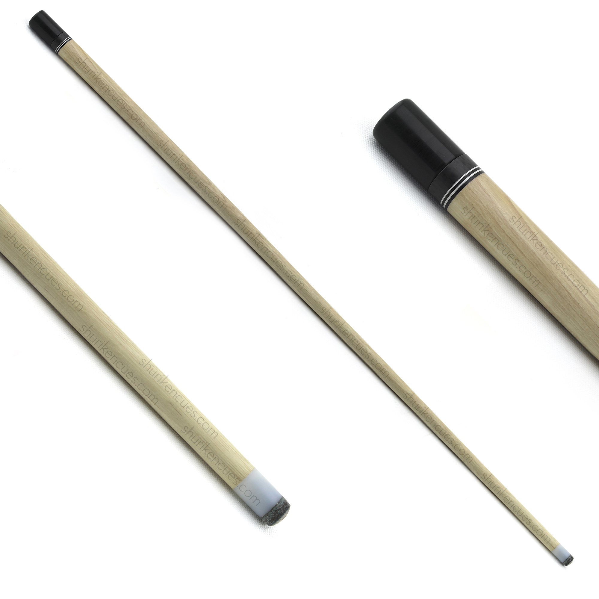 white-shaft-title shurikencues white shaft pool shaft snooker shaft custom shaft cuemaker shaft hornbeam shaft