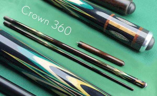 crown 360 sonokeling silver inlays