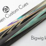 Bigwig cue blank custom cue blank bigwig