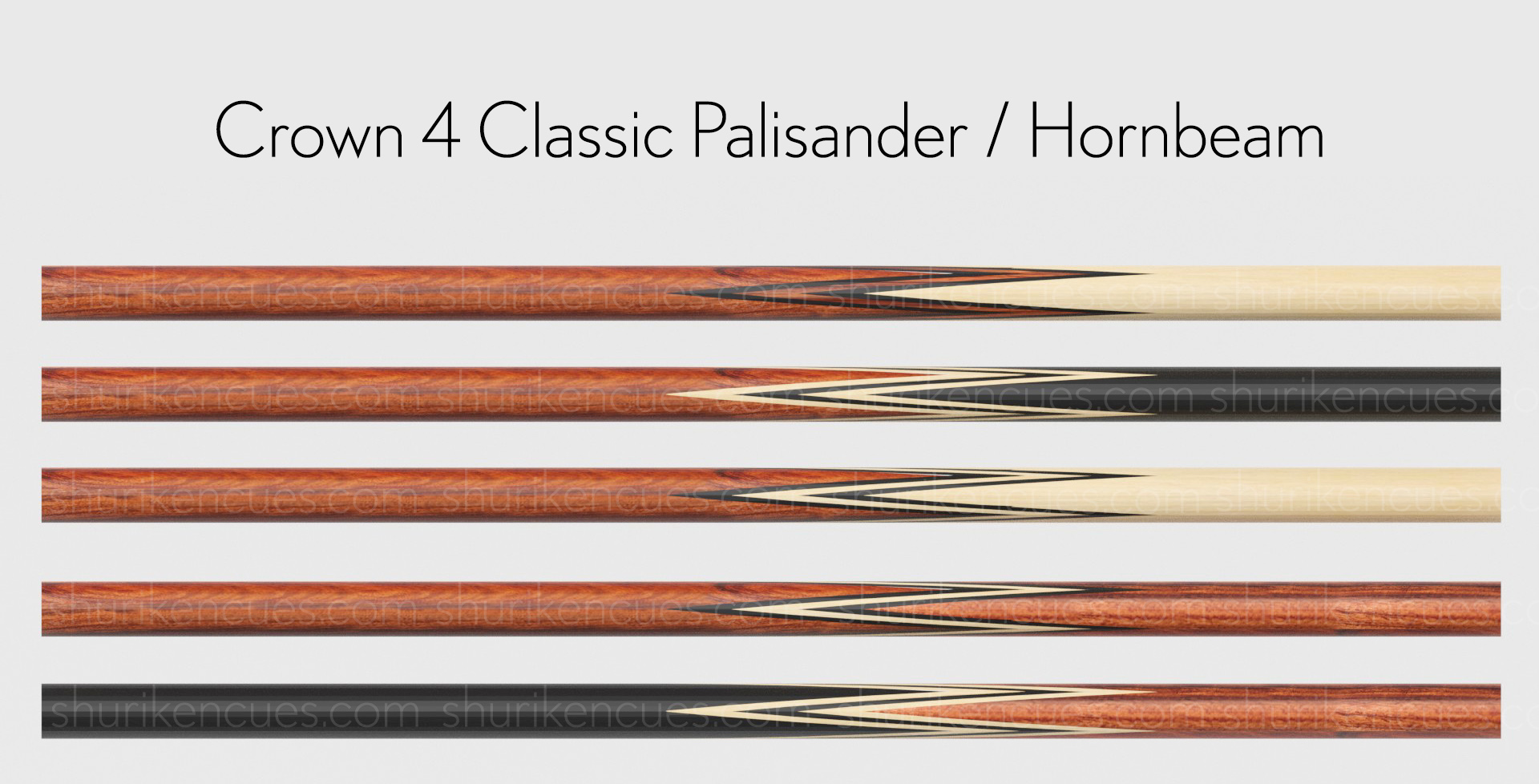 Crown-4p-classic palisander h bh