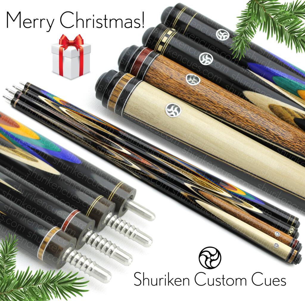 merry-christmas-2020 shuriken fullsplice custom cues