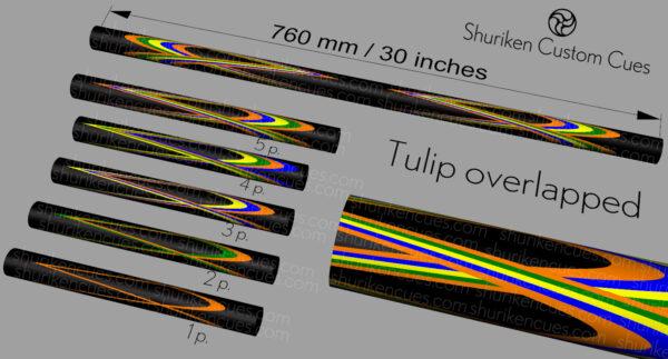 02 Model tulip overlapped short