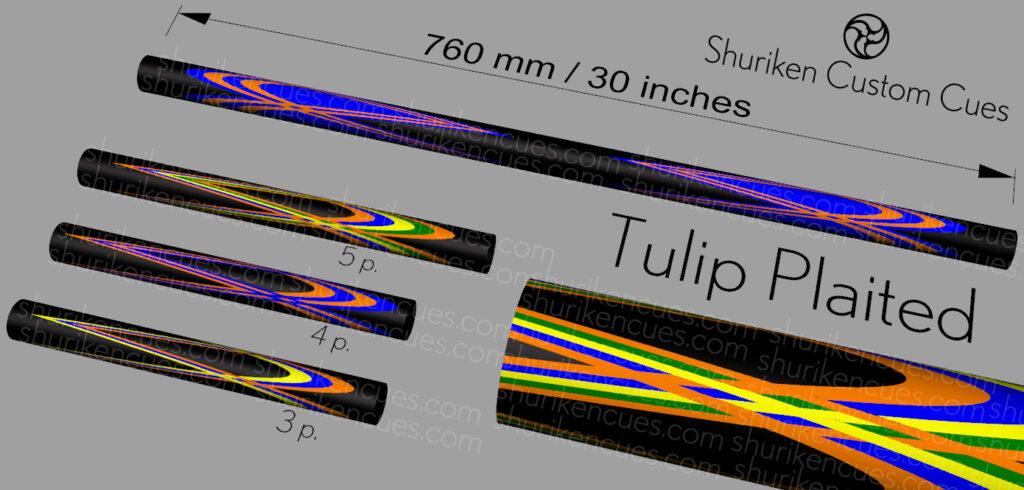 03 Model tulip plaited short
