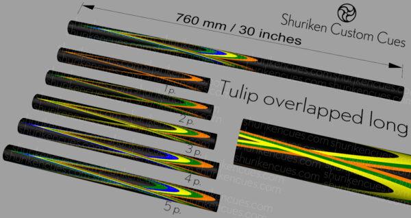 04 Model tulip overlapped long