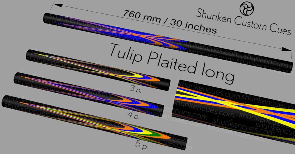 05 Model tulip plaited long