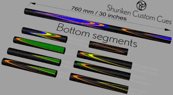 10 bottom segments