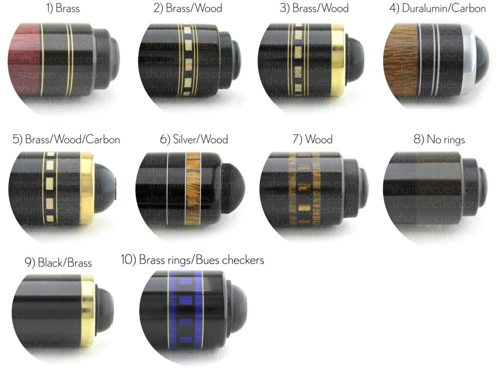 ringwork-cut ringwork-cut rings cue rings cues silver rings brass rings wood rings billiards cues