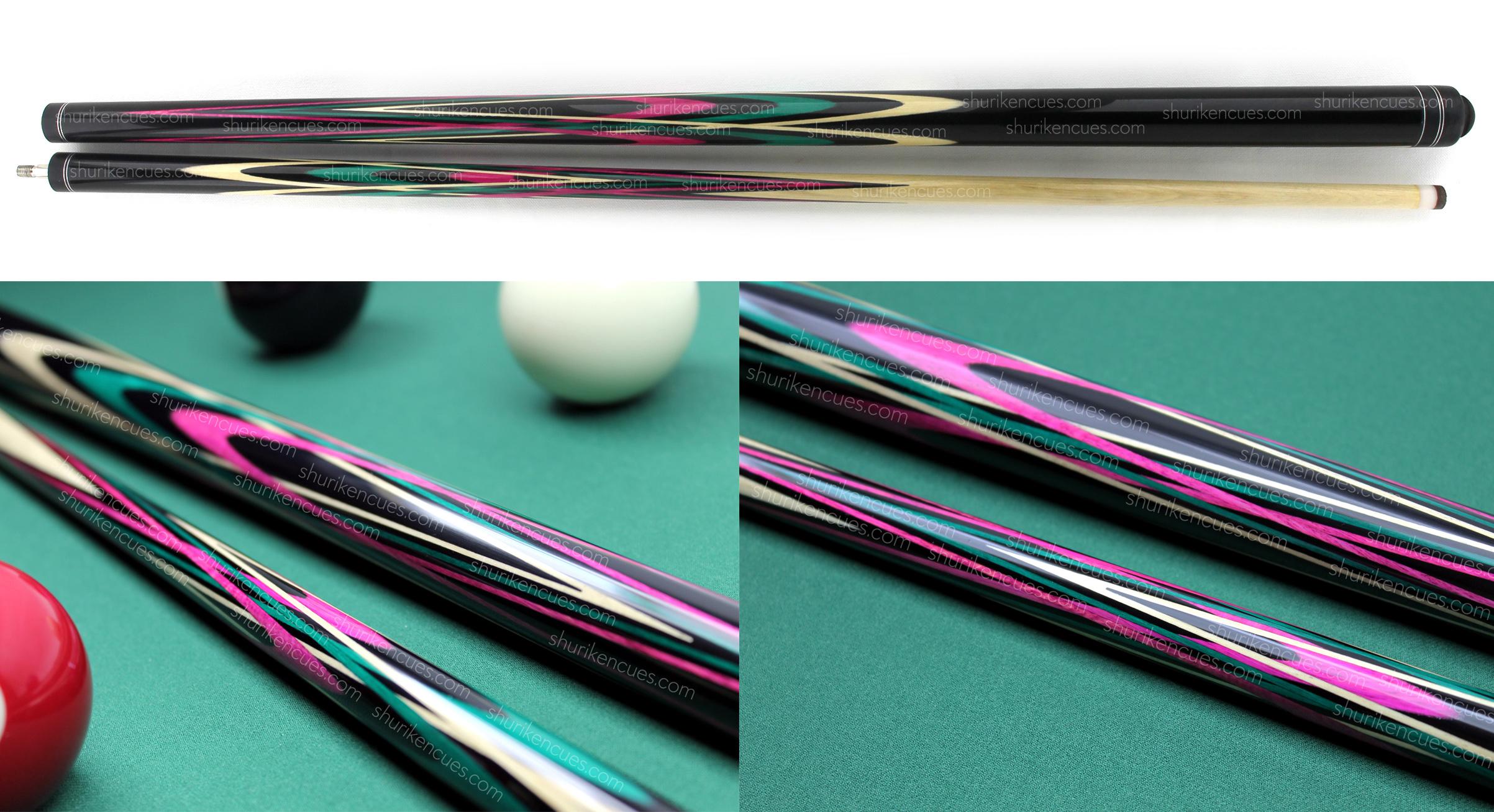 title-1 venomous tulip cue pool cue violet cue girls cue woman cue fullsplice cue custom cue pink cue custom pool cue