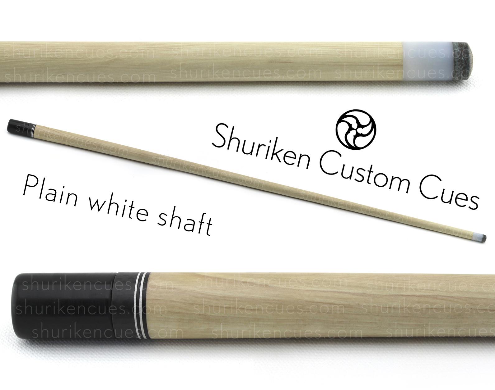white shaft