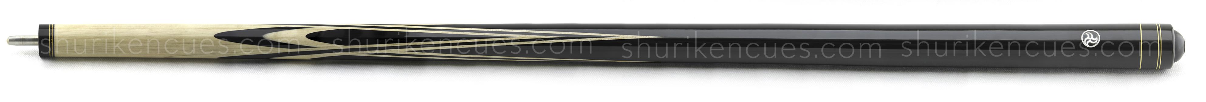 butts-uniloc harlequin cue butt hornbeam cue fullsplice cue custom cue harlequin black tulip black