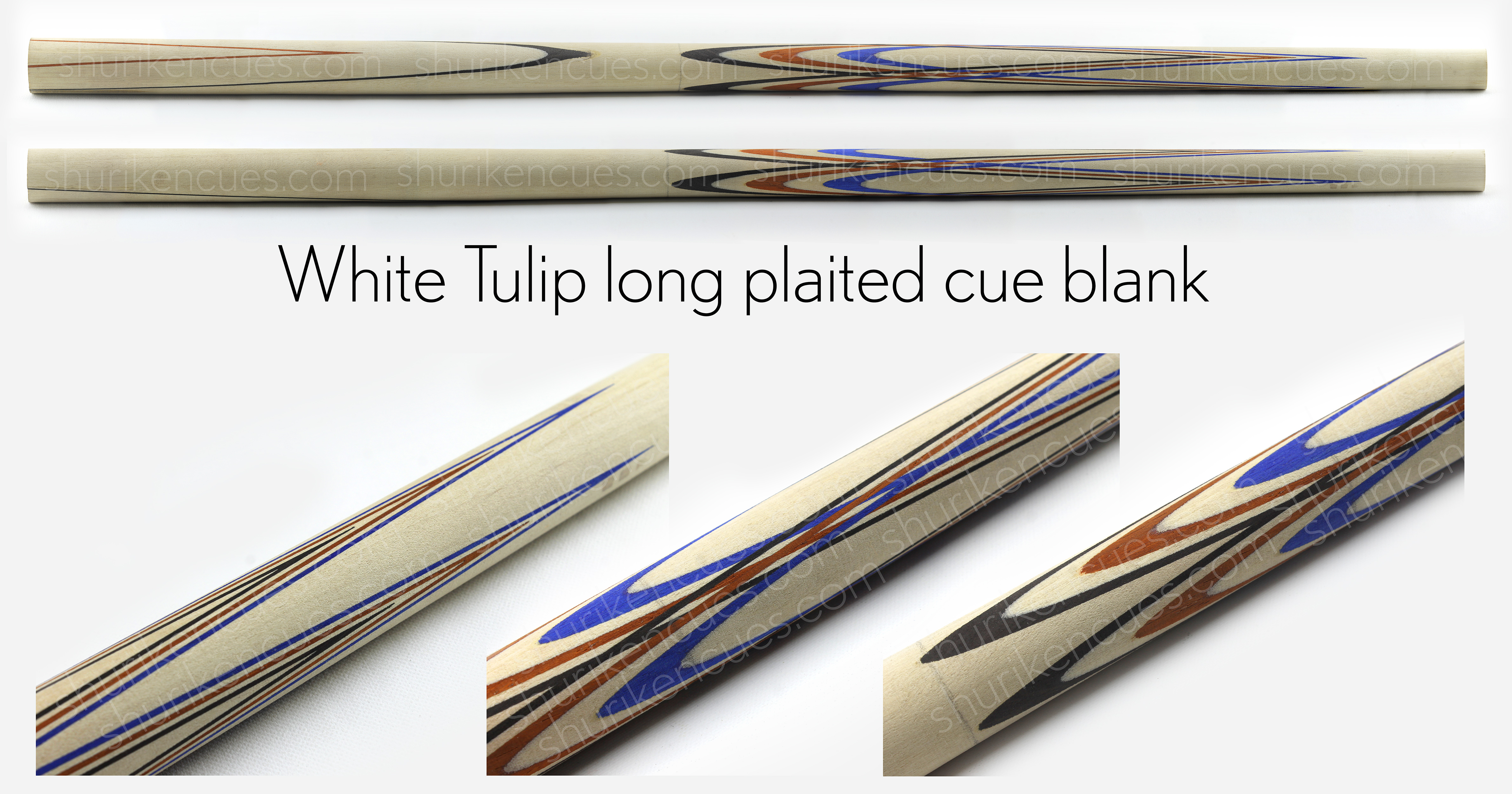 white cue blank tulip long plaited white cue blank tulip plaited white